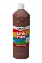 Temperová barva CREALL školní 1000ml tmavě hnědá