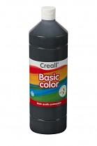 Temperová barva CREALL školní 1000ml černá