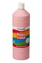 Temperová barva CREALL školní 1000ml růžová