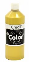 Temperová barva CREALL metalická 500 ml zlatá