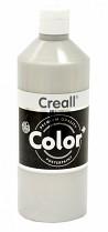 Temperová barva CREALL metalická 500 ml stříbrná