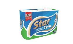 Toaletní papír Lucart Smile 3-vrstvý 8 rolí