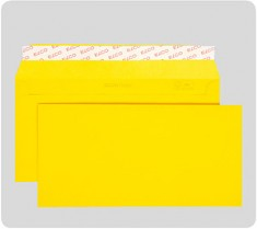 Obálka ELCO Color DL 100g odtrhávací pruh 250ks žlutá