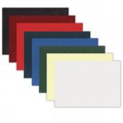 Zadní karton Delta imitace kůže 100ks A4 bílá