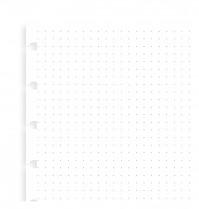 Poznámkový blok FILOFAX NOTEBOOK A5 náhradní listy tečkované