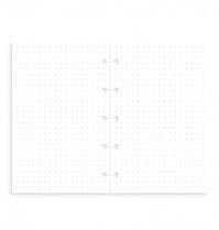 Poznámkový blok FILOFAX NOTEBOOK kapesní - A7 náhradní listy tečkované