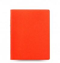 Poznámkový blok FILOFAX NOTEBOOK SAFFIANO A5 oranžová