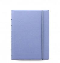 Poznámkový blok FILOFAX NOTEBOOK PASTEL A5 modrý