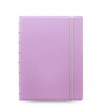 Poznámkový blok FILOFAX NOTEBOOK PASTEL A5 fialový