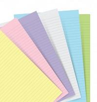 Poznámkový blok FILOFAX NOTEBOOK A7 kapesní náhradní listy pastelové linka