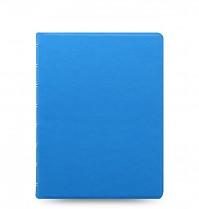 Poznámkový blok FILOFAX NOTEBOOK SAFFIANO FLUORO A5 modrá