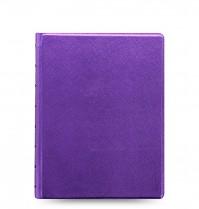Poznámkový blok FILOFAX NOTEBOOK SAFFIANO METALLIC A5 violet