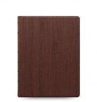 Poznámkový blok FILOFAX NOTEBOOK ARCHITEXTURE A5 Rosewood