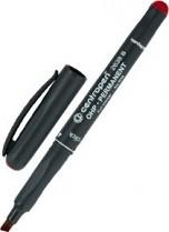 Popisovač perm. Centropen OHP 2638 B klínový hrot 1 - 3 mm červený