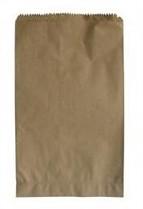 Sáček papírový 120+50x280 mm nosn. 1 kg bez potisku 500 ks