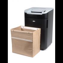 Pytel Rexel na recyklovatelný skartovaný odpad, objem 115 litrů 50 kusů