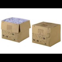 Pytle na odpad pro Rexel Auto+ 500X/M Hnědá 50 kusů