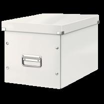 Čtvercová krabice Leitz Click&Store, velikost L (A4) Bílá
