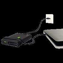 Univerzální napájecí zdroj USB-C Leitz Complete pro notebooky a další zařízení, 60W Černá