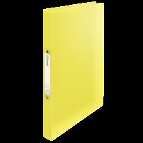 Desky s 2kroužkovým mechanismem Esselte Colour´Ice Žlutá