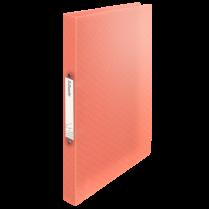 Desky s 2kroužkovým mechanismem Esselte Colour´Ice Broskvová