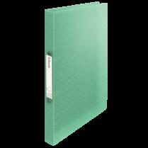 Desky s 2kroužkovým mechanismem Esselte Colour´Ice Zelená