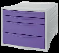Zásuvkový box Esselte Colour'Ice Žlutá