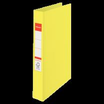 Plastový kroužkový pořadač Esselte Colour´Ice Žlutá