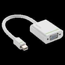 Adaptér Mini display port na VGA Leitz Complete Bílá