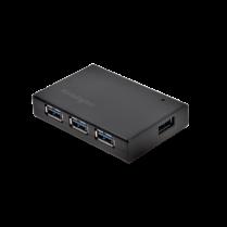 Čtyřportový rozbočovač USB 3.0 a nabíječka Kensington UH4000C