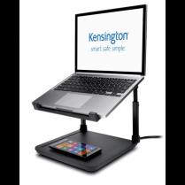 Podstavec pod notebook Kensington SmartFit® s podložkou pro bezdrátové nabíjení mobilních telefonů Qi