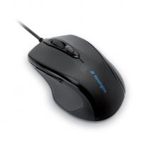 Kabelová počítačová myš střední velikosti Kensington Pro Fit™ Černá