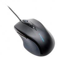 Kabelová počítačová myš standardní velikosti Kensington Pro Fit™ Černá