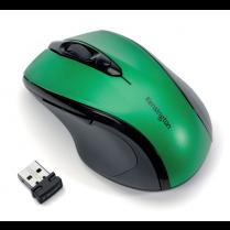 Bezdrátová počítačová myš střední velikosti Kensington Pro Fit®, smaragdově zelená Zelená