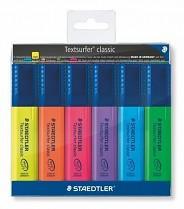 """Psací sada STAEDTLER """"Textsurfer classic 364"""" klínový hrot 1-5 mm 6-sada"""