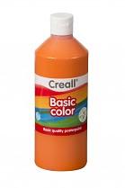 Temperová barva CREALL školní 500ml oranžová