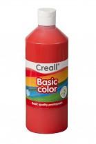 Temperová barva CREALL školní 500ml červená