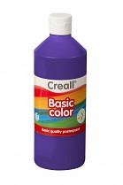 Temperová barva CREALL školní 500ml fialová
