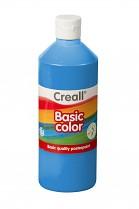Temperová barva CREALL školní 500ml modrá