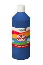 Temperová barva CREALL školní 500ml tmavě modrá