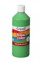 Temperová barva CREALL školní 500ml zelená