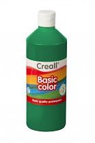 Temperová barva CREALL školní 500ml tmavě zelená