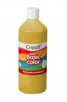 Temperová barva CREALL školní 500ml okrová