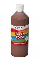 Temperová barva CREALL školní 500ml tmavě hnědá