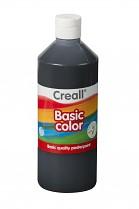 Temperová barva CREALL školní 500ml černá