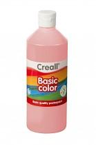 Temperová barva CREALL školní 500ml růžová