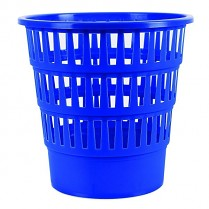 Odpadkový koš DONAU PP perforovaný 16l modrý
