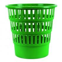 Odpadkový koš DONAU PP perforovaný 16l zelený