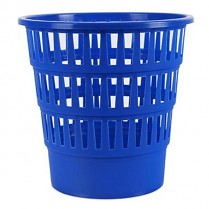 Odpadkový koš DONAU PP perforovaný 16l tmavě modrý
