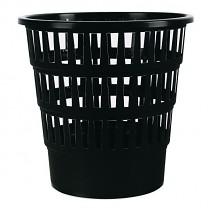 Odpadkový koš DONAU PP perforovaný 16l černý